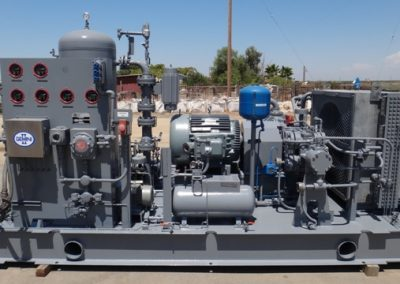 Gemini HPSS - 125 HP 4 Stage Compressor Package - Rebuilt Ready to Run.