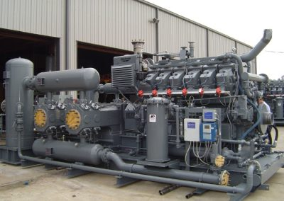 Ingersoll Rand RDS-4 / Waukesha L7042GSI - 2 Stage Compressor Package